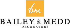 Bailey & Medd Decorators | York Retina Logo